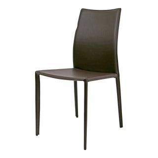 Alphaville Design Lily Brown Leather Dining Chair