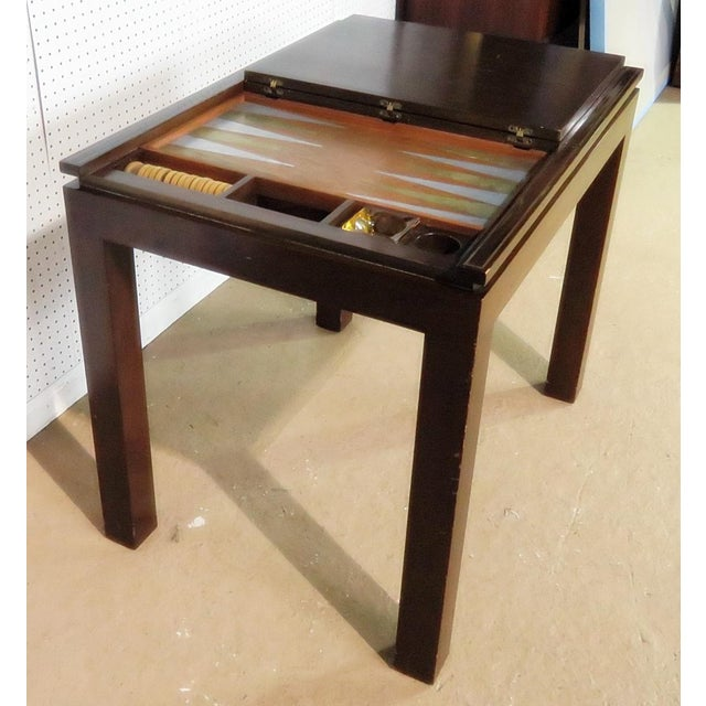 Mid 20th Century Mid Century Dunbar Game Table For Sale - Image 5 of 7