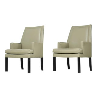 Roger Sprunger Pair of Dunbar Occasional Chairs, USA, 1960s For Sale