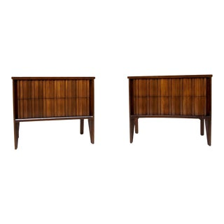 On Hold 1970s Unagusta Furniture Nightstands With 2 Drawers - a Pair For Sale