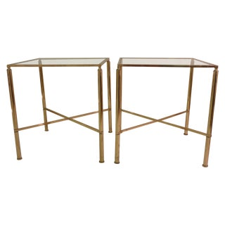 Bagues Style End Tables - Pair For Sale