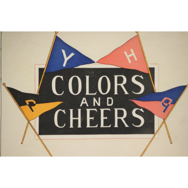 1898 Colors and Cheers Poster - Image 3 of 4