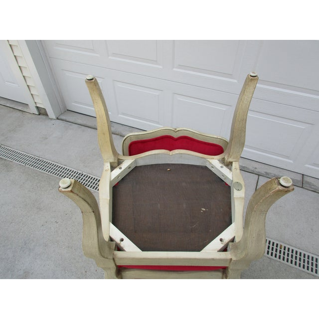 French 20th Century French Provincial Baker Side or Dining Chair For Sale - Image 3 of 12