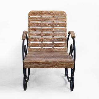 Teak Deco Arm Chair Preview