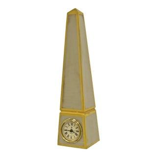 Obelisk Clock, Limited Edition For Sale