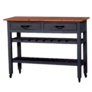 Sideboard Table Sofa Table Console With Wine Rack Modern Farm Boho For Sale