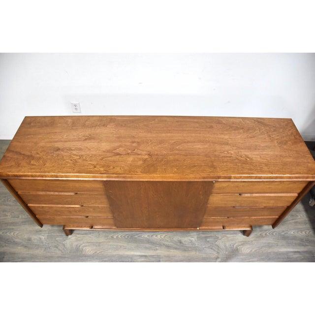 1950s Edmond Spence Swedish Modern Dresser Credenza For Sale - Image 5 of 12
