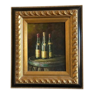 Oil Painting - Wine Bottles For Sale