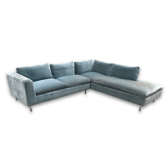 Mid-Century Modern Mid-Century Custom Sectional For Sale - Image 3 of 4