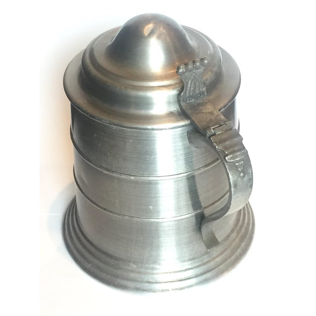 Huge Pewter Stein Ice Bucket For Sale - Image 4 of 7