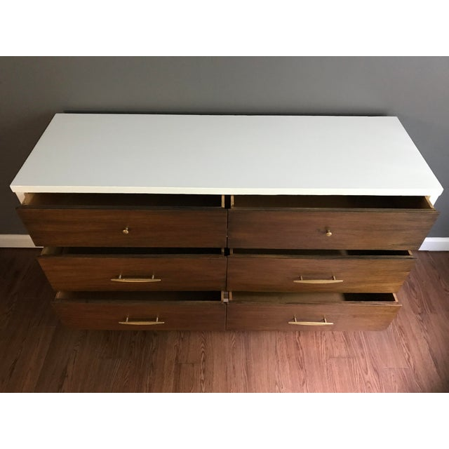 Two-Tone Mid-Century Dresser - Image 4 of 7