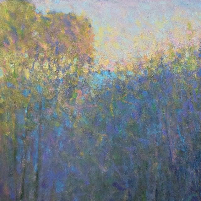Ken Elliott Ken Elliott, 'At the Ponds Edge, Emerging Spring' Painting, 2017 For Sale - Image 4 of 7