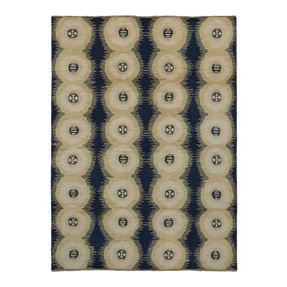 New Contemporary Moroccan Style Area Rug With Symmetrical Circles and Modern Style, 10'04 X 14'00
