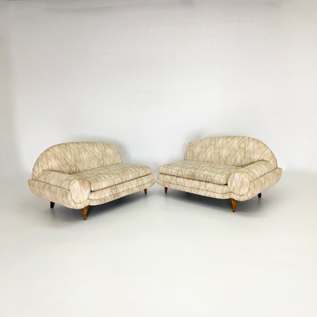 Mid-Century Modern 2 Piece Sectional Sofa - Image 5 of 6