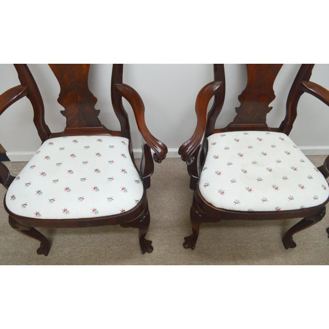 Councill Furniture Councill Set of 6 Mahogany Dining Chairs For Sale - Image 4 of 13