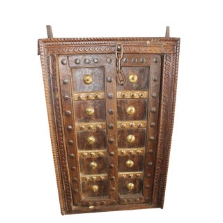 Antique Indian Jharokha Wall Decor For Sale