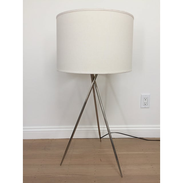 La Relco Italian Tripod Table Lamp For Sale - Image 11 of 11