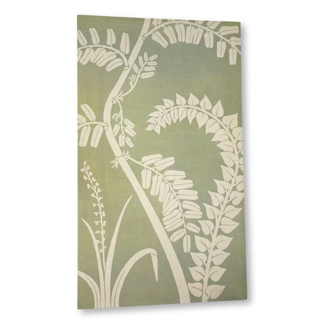 Canvas Floral Fern Organic Modern Botanical Art For Sale - Image 7 of 7