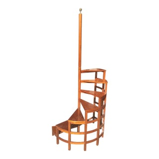 Rare Globe Wernicke Library Ladder For Sale