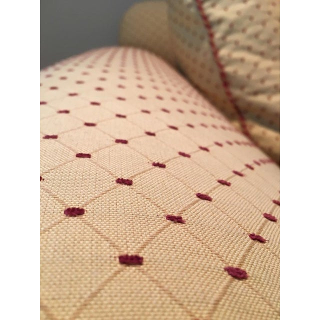 Calico Corners Custom Single Cushion Sofa & Pillows - Image 4 of 6