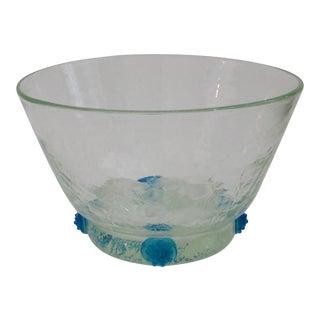Blenko Glass Console Bowl