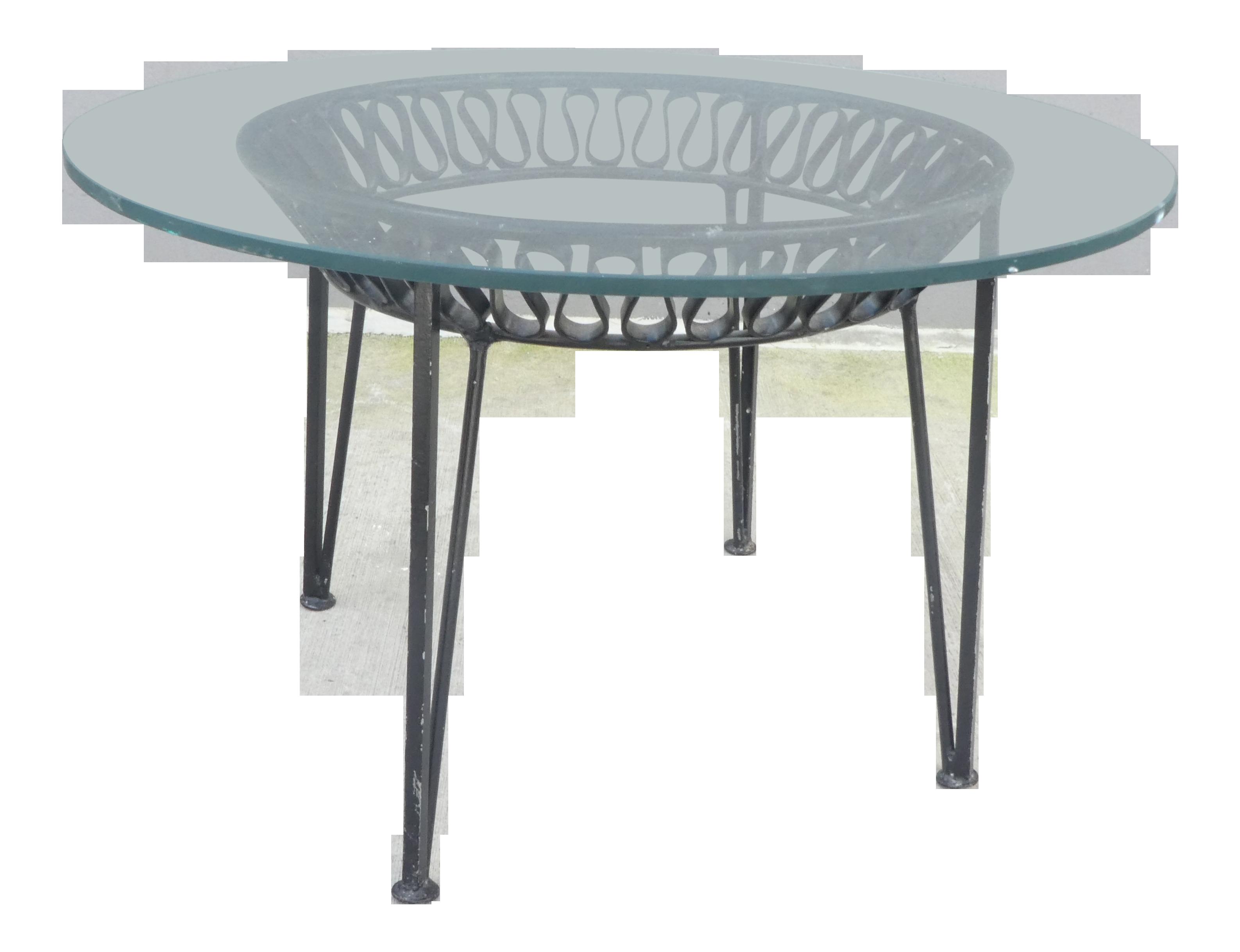 Gentil 1950s Mid Century Modern Maurizio Tempestini For Salterini Ribbon Side Table