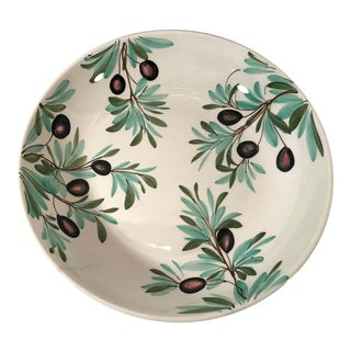 Late 20th Century Vintage Neiman Marcus Italian Platter For Sale