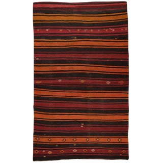 Banded Kilim For Sale