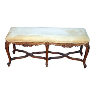 Cute Louis XV Style Window Bench For Sale