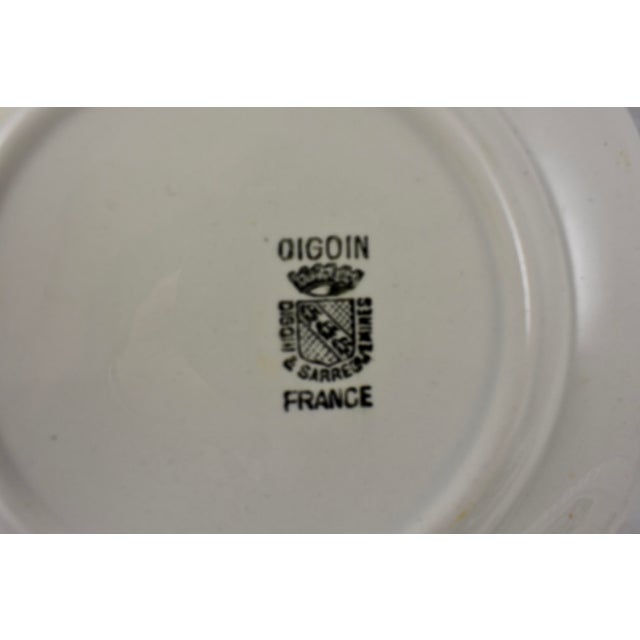 Digoin Sarreguemines French Transferware 'Mois De L'année' Plates, S/12 For Sale - Image 9 of 11