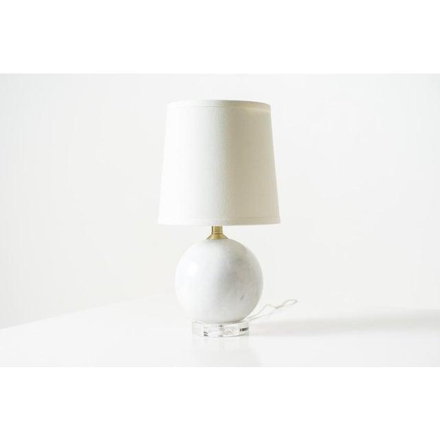 2010s White Klara Table Lamp For Sale - Image 5 of 5