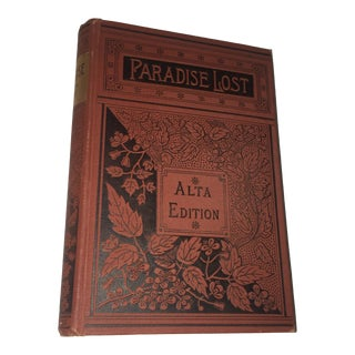 19th Century Paradise Lost by John Milton Rare Book
