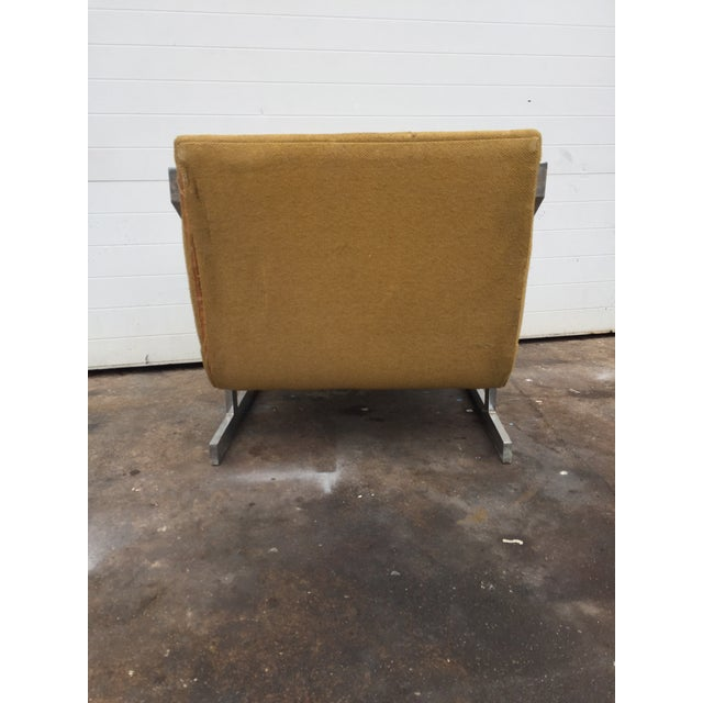 Chrome Mid-Century Chrome Carson Lounge Chair For Sale - Image 7 of 9