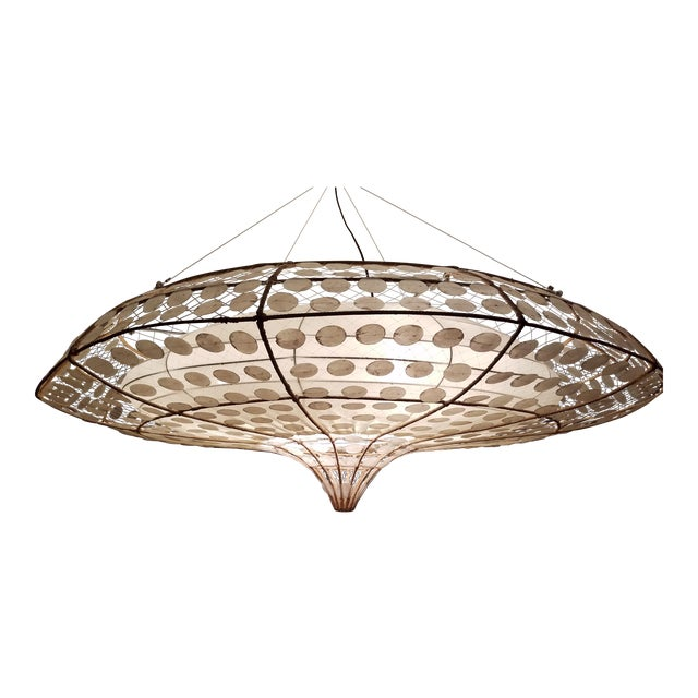 Balinese-Style Chandelier For Sale