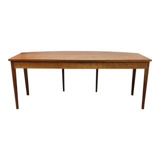 Thomas Moser Curved Bow Front Cherry Desk For Sale