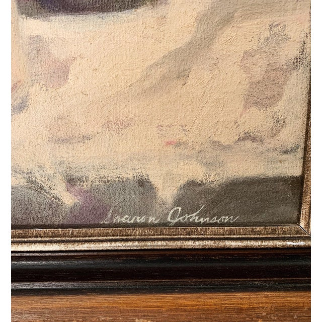 1960s Vintage Sharon Johnson Oil on Canvas Still Life Painting For Sale In Minneapolis - Image 6 of 7