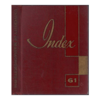 1961 University of Massachusetts Yearbook For Sale