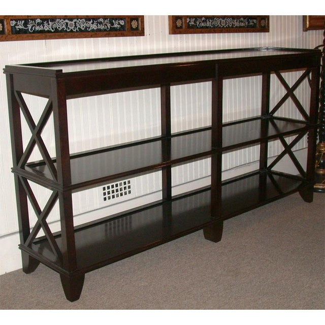 Regency Style Console With Shelving - Image 7 of 8