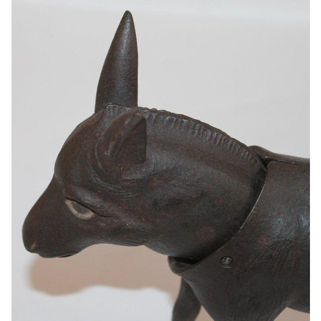 19Thc Donkey Door Stop With Nodder Head For Sale In Los Angeles - Image 6 of 10