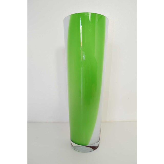 Mid-Century Modern Murano Vase For Sale - Image 3 of 6