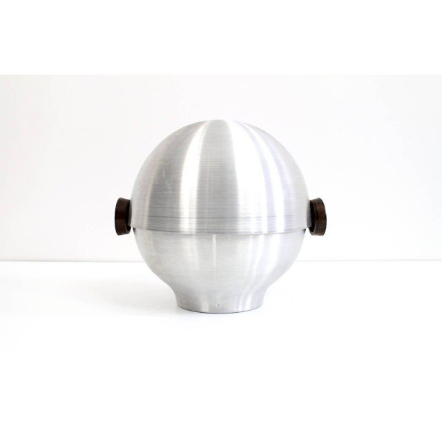 1930s Rare and Early Russel Wright Aluminum Vessel For Sale - Image 5 of 11