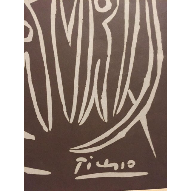 Cubism 1955 Pablo Picasso Exposition Vallauris Poster For Sale - Image 3 of 6