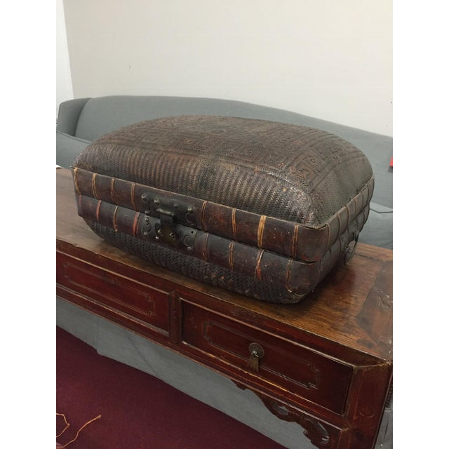 Mid 19th Century Antique Storage Basket For Sale - Image 11 of 12