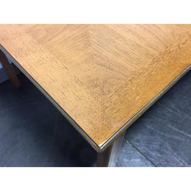 Brown Vintage Thomasville Tamerlane Dining Table For Sale - Image 8 of 11