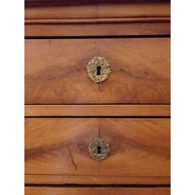Antique Beidermeier Fruitwood Bureau For Sale - Image 11 of 13