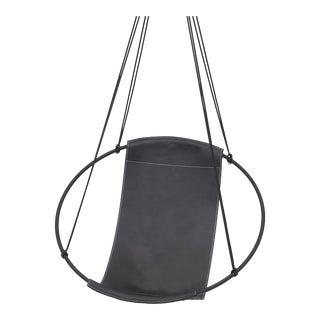 Modern Black Sling Chair For Sale