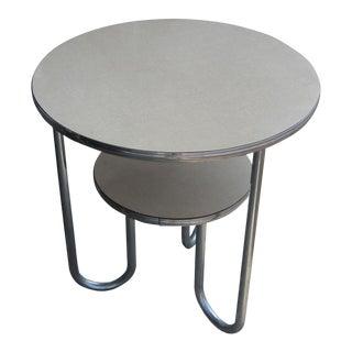 Vintage Art Deco Tiered Side Table
