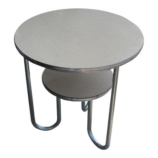 Vintage Art Deco Tiered Side Table (Mr13770) For Sale