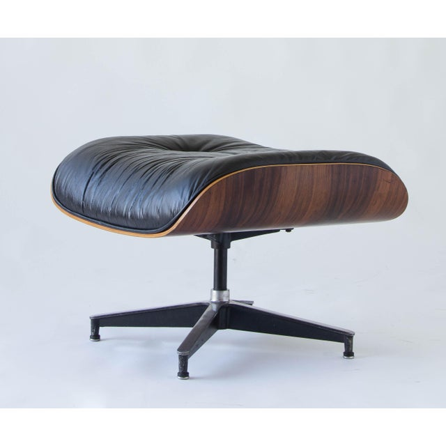 Vintage Eames Lounge Chair With Ottoman - Image 8 of 9