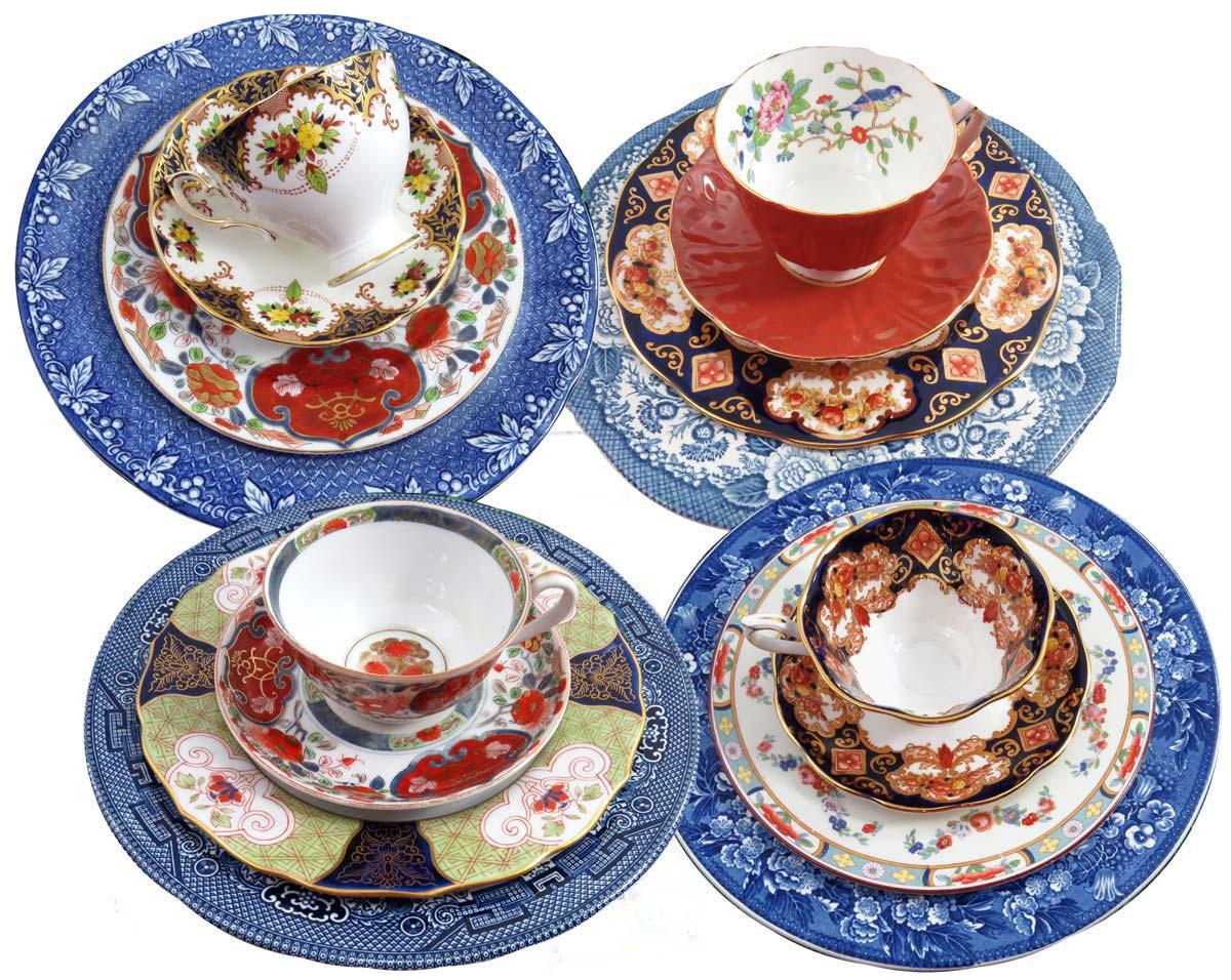 Mismatched Imari Dinnerware Set Service for 4  sc 1 st  Chairish & Mismatched Imari Dinnerware Set Service for 4 | Chairish